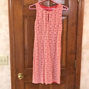 New York and Company - pink lace dress